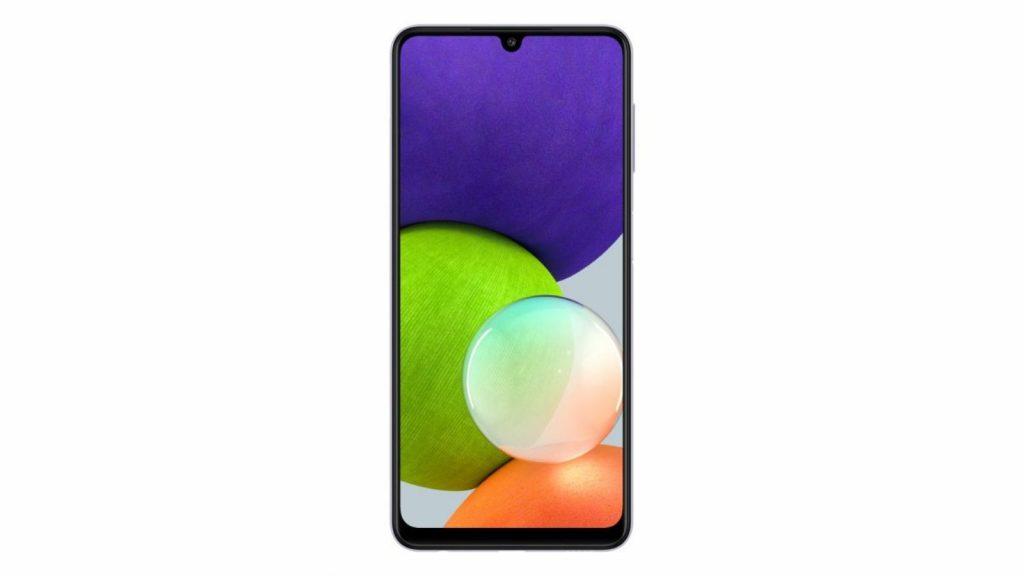 Samsung South Africa Galaxy A22 mid-range smartphone