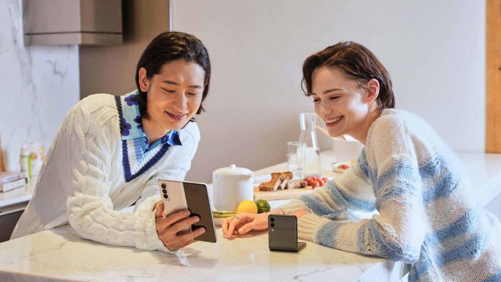 samsung foldable phones 2021