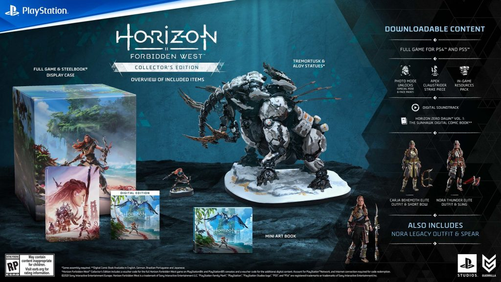 horizon forbidden west collector's edition price south africa