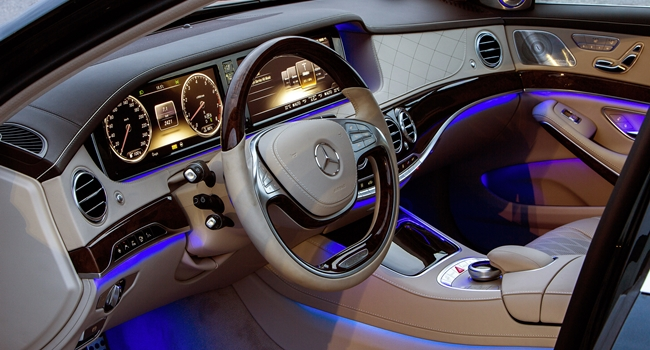 S Class 2014 Interior