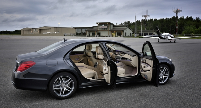 S Class With Doors Open