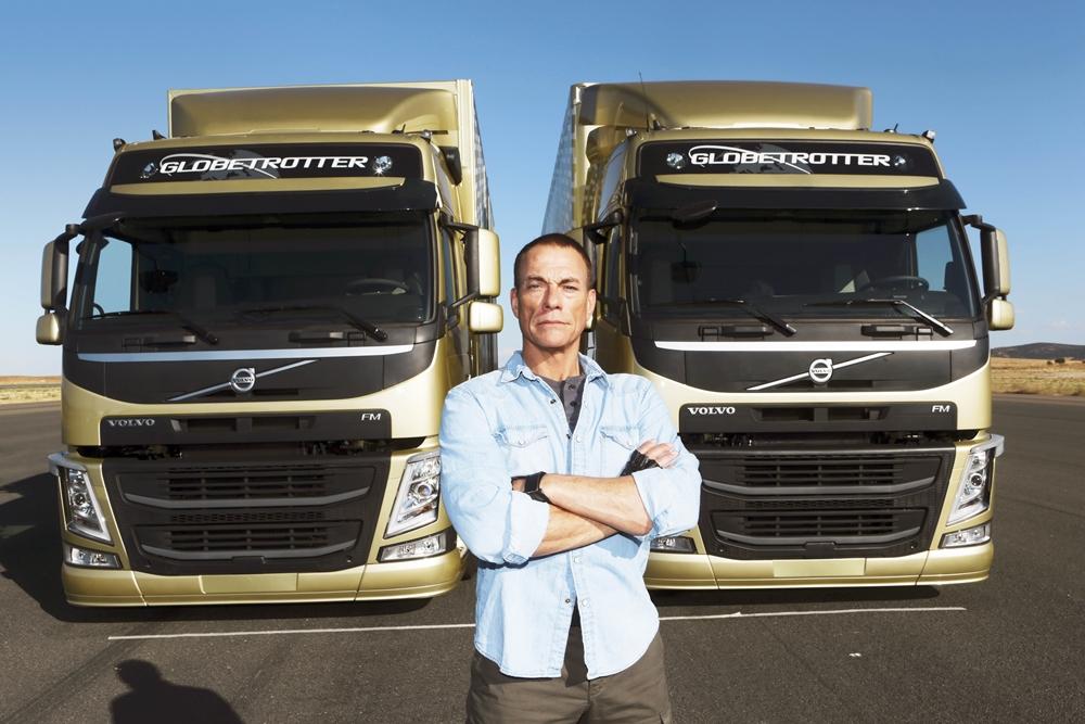 JCvD Volvo Trucks