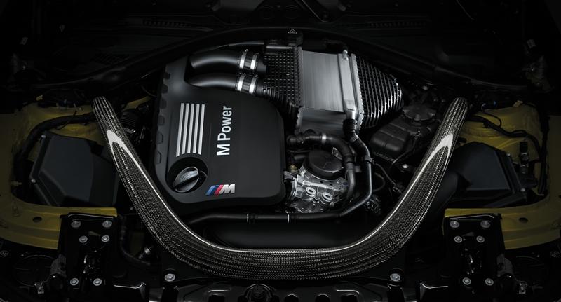 BMW M series powertain