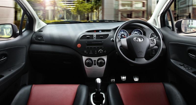 GWM C20R interior