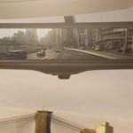 Nissan Motor Develops the Smart rearview mirror
