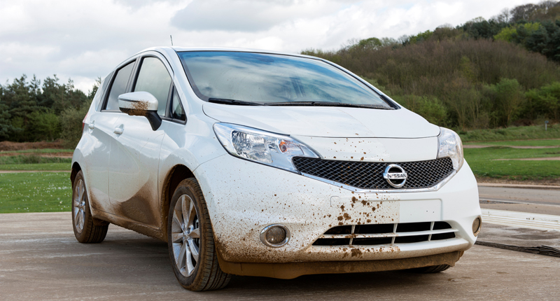 Self-cleaning Nissan