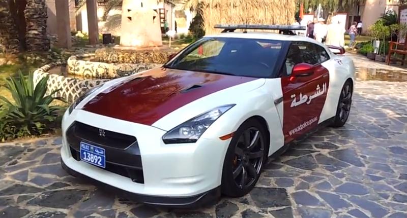 Abu Dhabi Police GTR