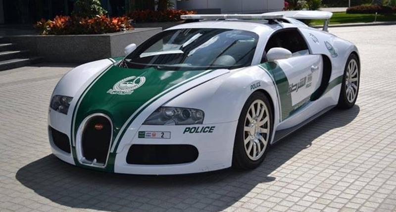 Dubai Police Bugatti