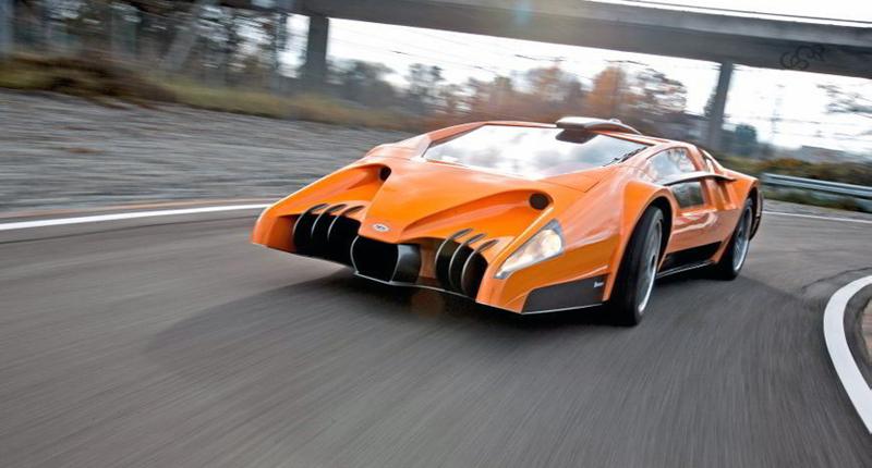 Sbarro Autobau concept 2010 sur route