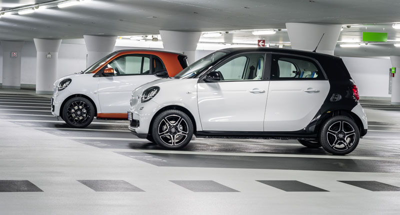 New Smart Cars