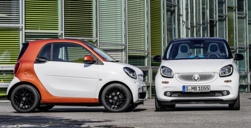 smart fortwo forfour launch