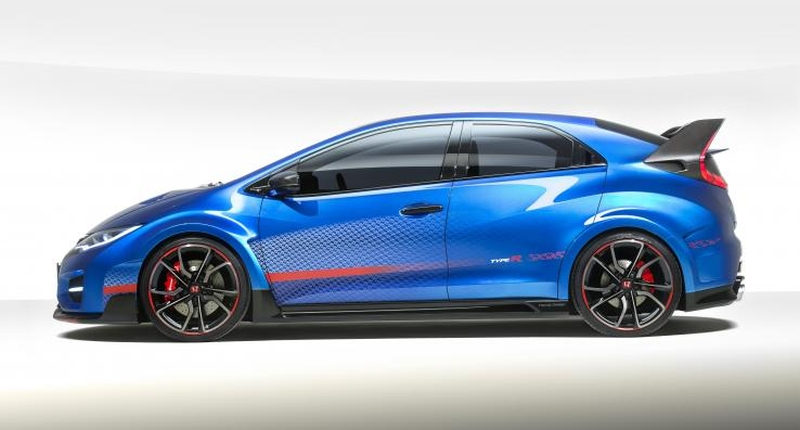 Honda Civic Type R concept 2014 side