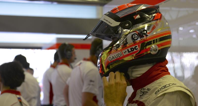Jules Bianchi Marussia 2