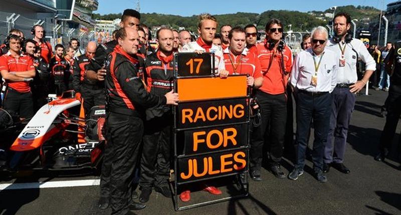 Russian GP Racing For Jules Marussia 2014