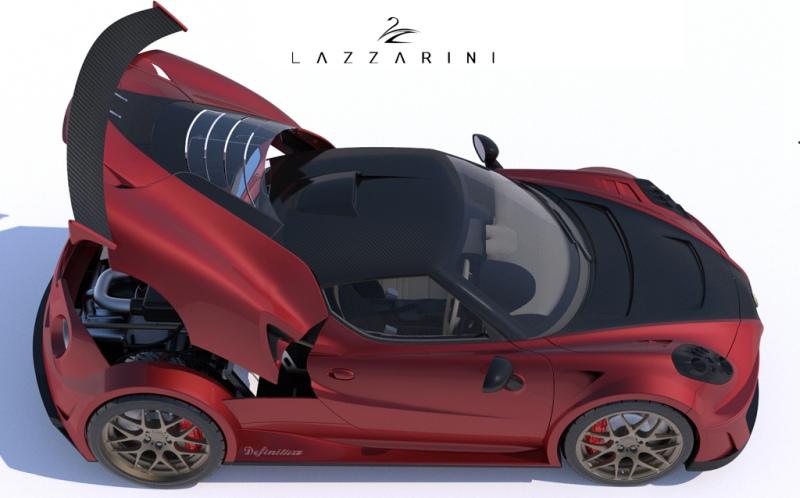 Alfa Romeo 4C Definitiva Lazzarini Design 2