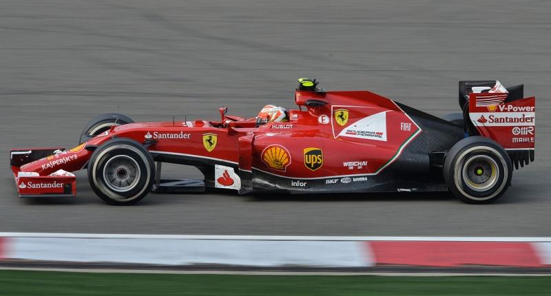 Ferrari F14T China 2014 Raikkonen