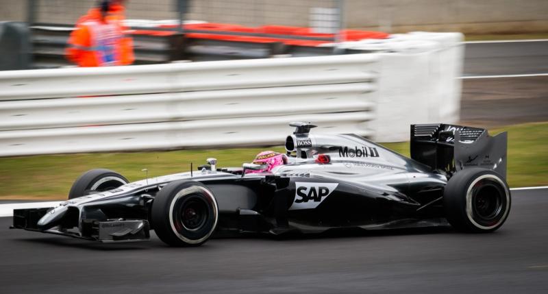 Jenson Button 2014 McLaren