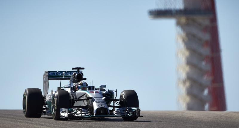Mercedes Hamilton US GP 2014