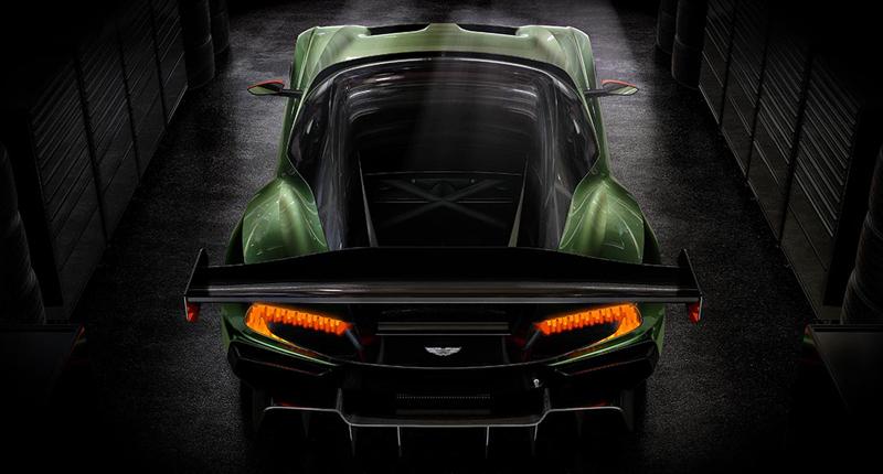 Aston Martin Vulcan rear