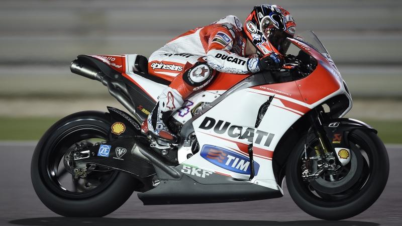 Ducati GP15 Dovizioso Qatar Test 2015