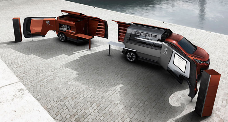 Peugeot Food truck 2