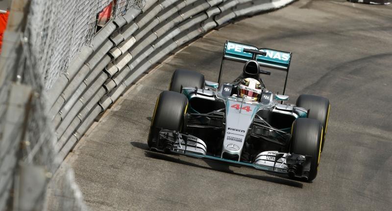 Hamilton Monaco GP Mercedes