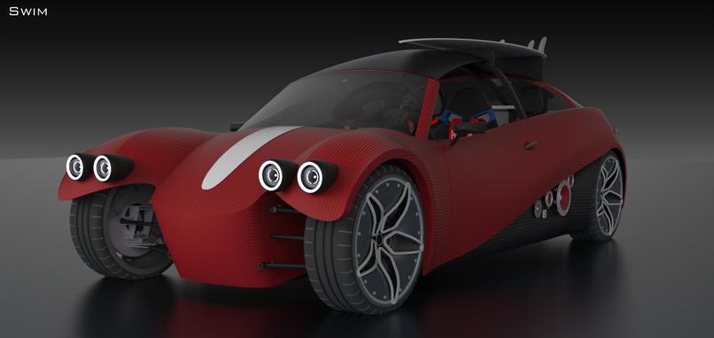 3D printed car 2