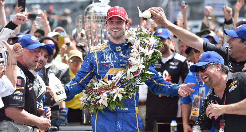 Alex Rossi Indy 500
