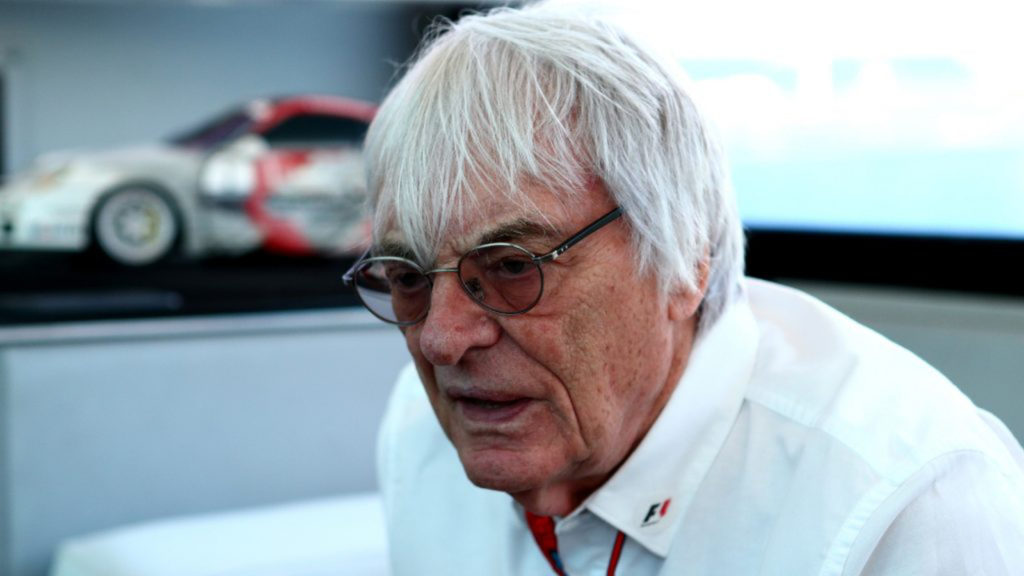 Bernie Ecclestone F1 website