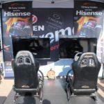 hisense tgn racing simulator
