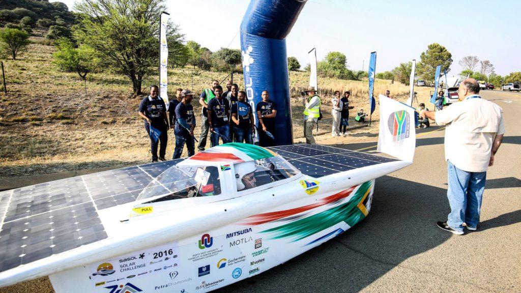 sasol solar challenge gariep dam 2016