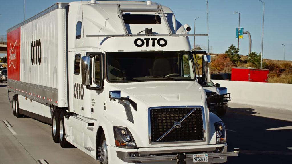 otto self-driving truck