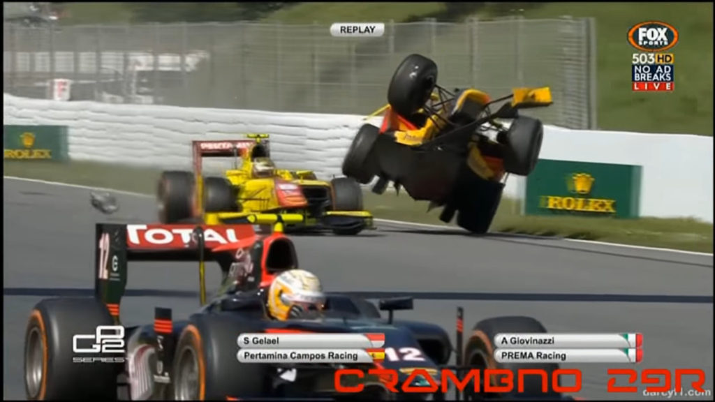 motorsport crashes