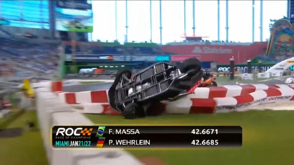 Pascal Wehrlein Race of Champions