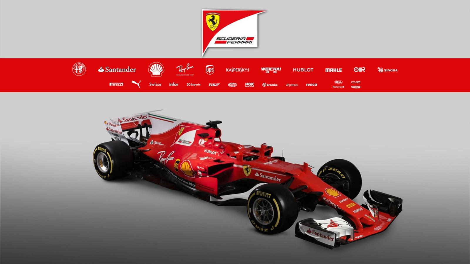 Ferrari F1 SF70H 2017