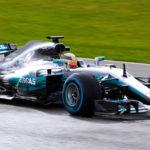 Mercedes W08 2017 F1