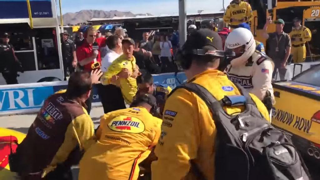 NASCAR Kurt Busch, Joey Logano