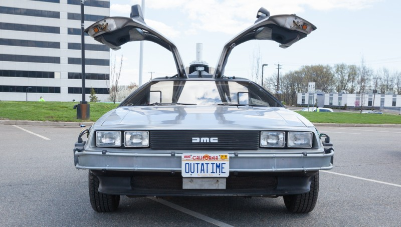 Unbelievable cars we wished existed_De Lorean DMC-12 – Back to the Future