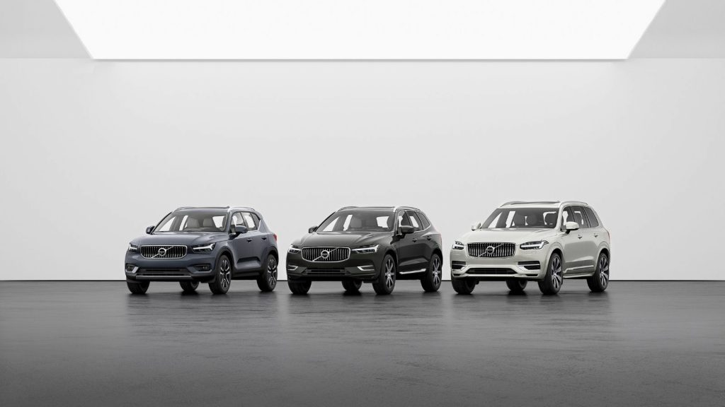 Volvo South Africa online store ecommerce rent purchase