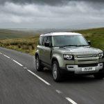Jaguar Land Rover Defender hydrogen fuel cell electric vehicle prototype
