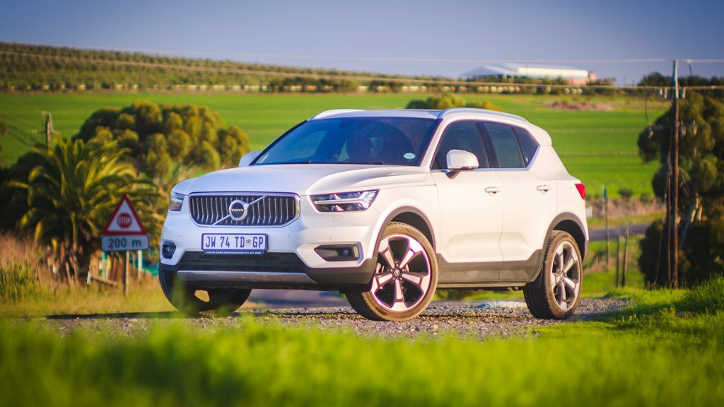 Volvo XC40 SUV review T3 Geartronic South Africa