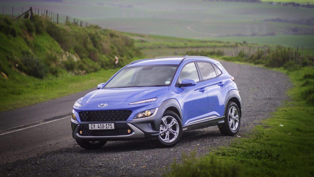 Hyundai Kona Crossover SUV TGDI South Africa new car 2021 update