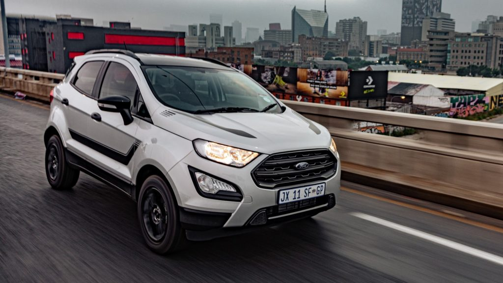 ford Ecosport Black
