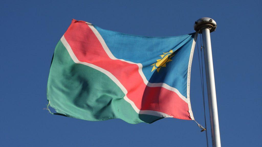 namibia nambia flag