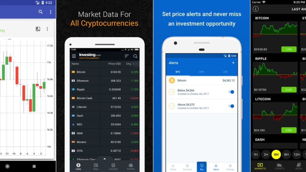 bitcoin cryptocurrency apps