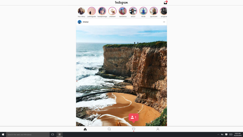 Here's how to upload photos to Instagram from your PC