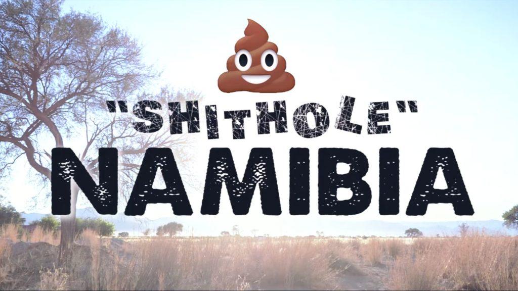 shithole namibia youtube video ees