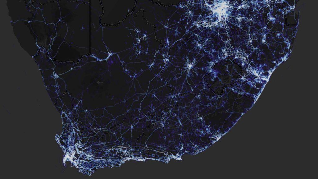 strava heat map military bases south africa