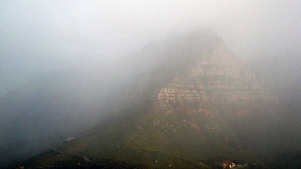cape town rain table mountain cold fronts warrenski flickr