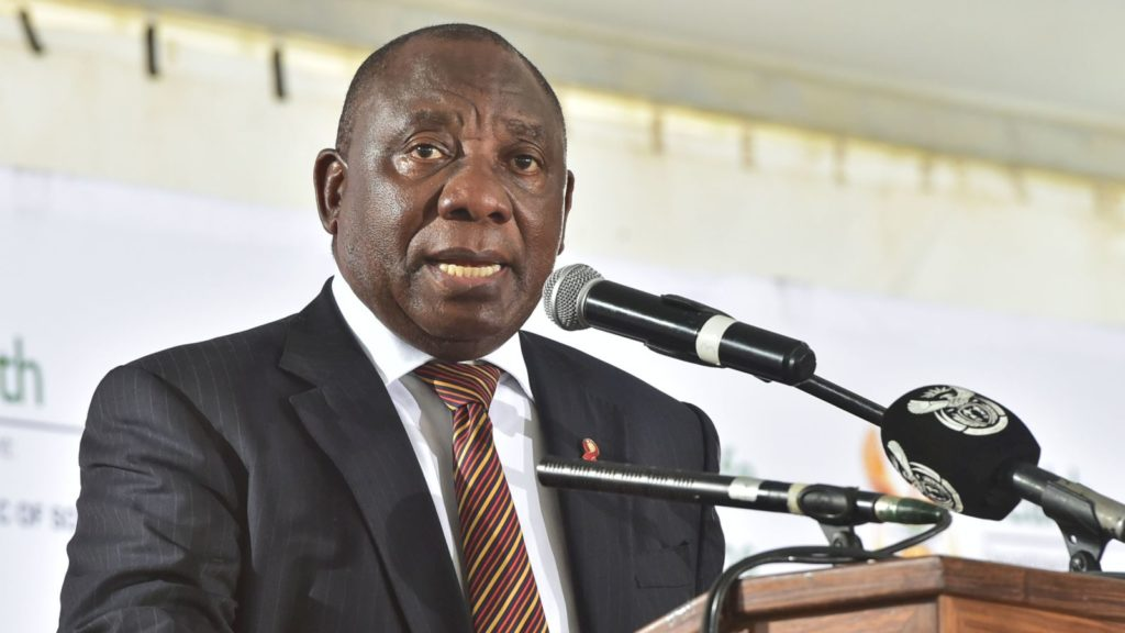 cyril ramaphosa south africa president governmentza flickr